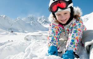 Wintersport met kliene kinderen