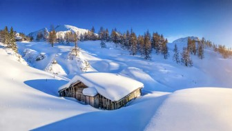 Sneeuwzekere wintersport in Europa