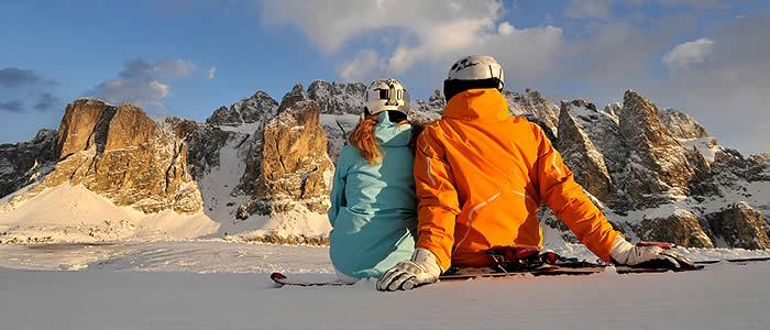 TUI wintersport Italië en de Dolomieten