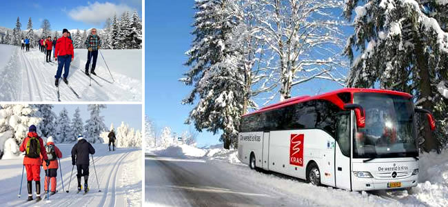 Kras Wintersport Reizen, langlaufen en winterwandelen