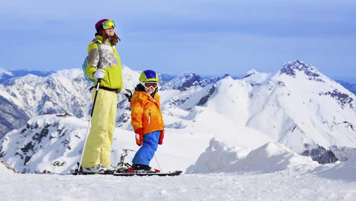 Wintersport in Königseliten