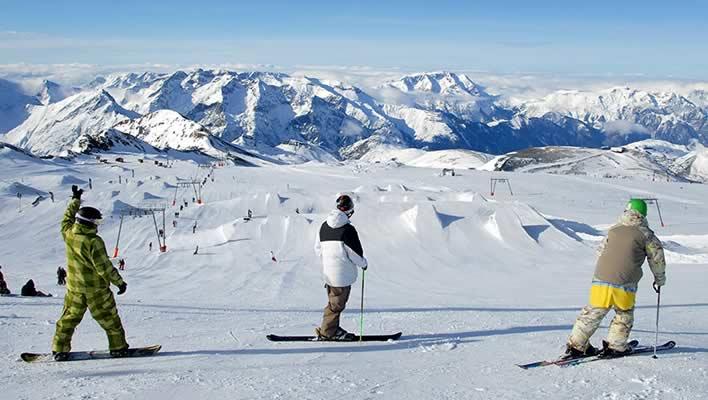 Wintersport in Les Deux Alpes