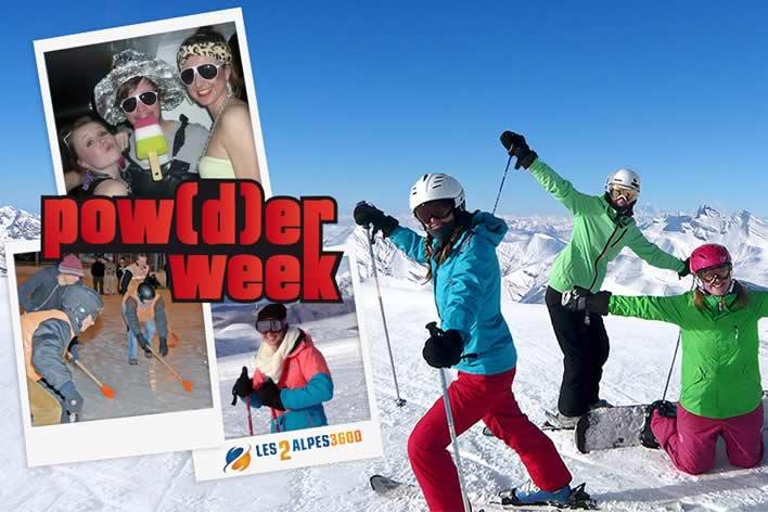 Ga met WinterTrex naar de Powderweek in Les Deux Alpes