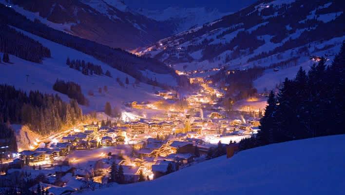 Sneeuwzekere wintersport Saalbach