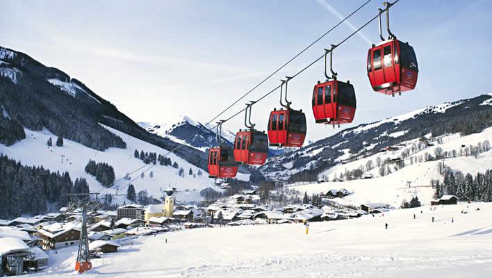 Sneeuwzekere wintersport Saalbach Hinterglemm