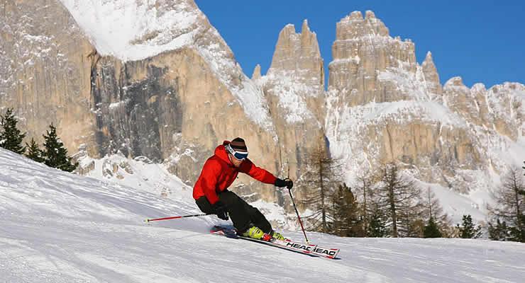 Uitdagende pistes in Val di Fassa